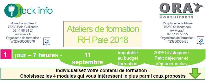 ATELIERS RH PAIE 2018