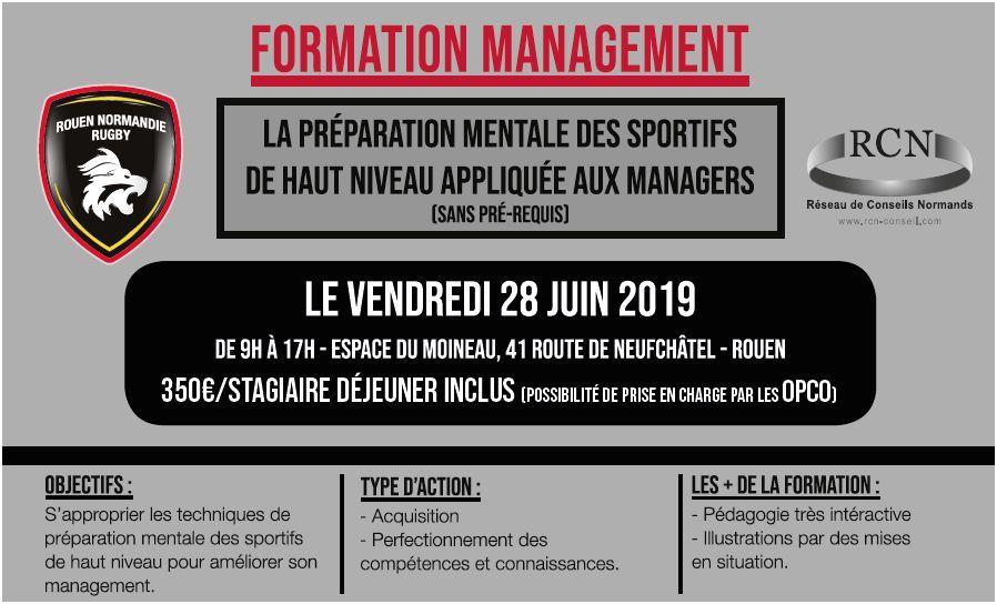 Formation Management 28 juin 2019