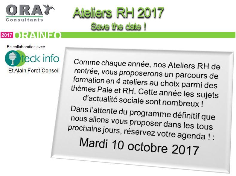Ora Infos septembre 2017