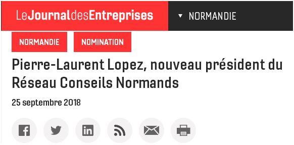 Pierre-Laurent Lopez, président du RCN